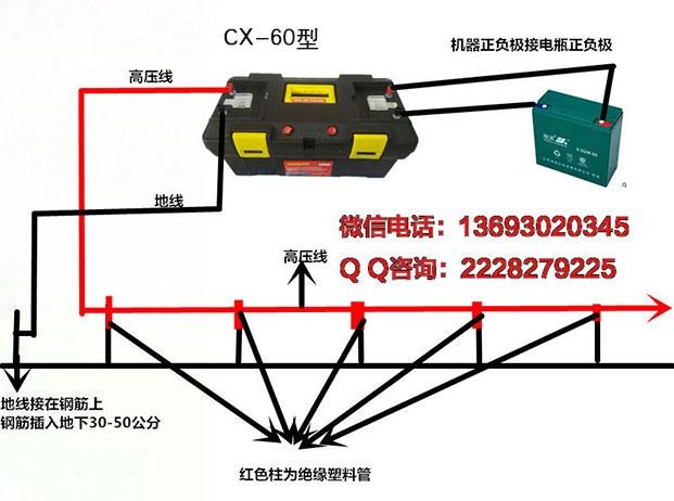 捕猎器cx-60型接线图 - 新型野猪捕猎工具_电野猪机